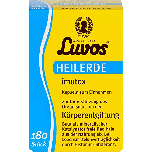 Luvos Heilerde imutox Kapseln Körperentgiftung, 180 St. Kapseln