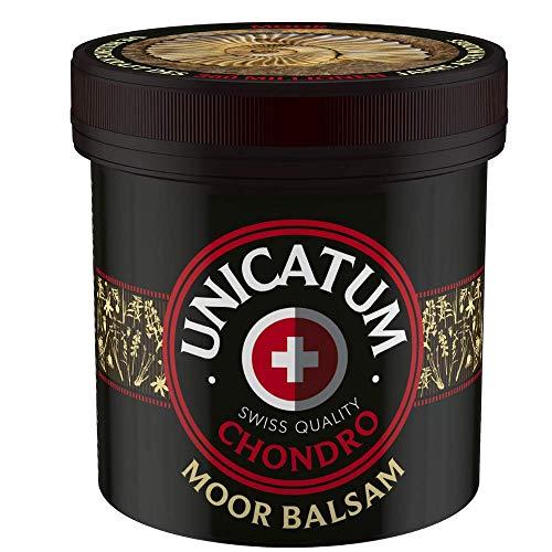Moorbalsam Unicatum Chondro 500 ml - für Rücken, Gelenke und Muskelschmerzen, mit Kräuterextrakten Massage-Gel für Rücken und Gelenke - einzigartiger Kräuterbalsam hergestellt aus Moor und Kräuter