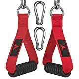 allbingo Ultimate Cable Machine Attachment Handles,Heavy Duty Resistance Bands Exercise Handle Grips...