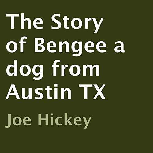 The Story of Bengee a Dog from Austin TX audiobook cover art