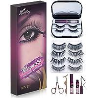 6-Pairs Bisutang Magnetic Eyelashes and Eyeliner