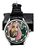 Crown Prince Mohammed BIN Salman Reformer-Visionario Arabia Saudita Allegiance Reloj de pulsera