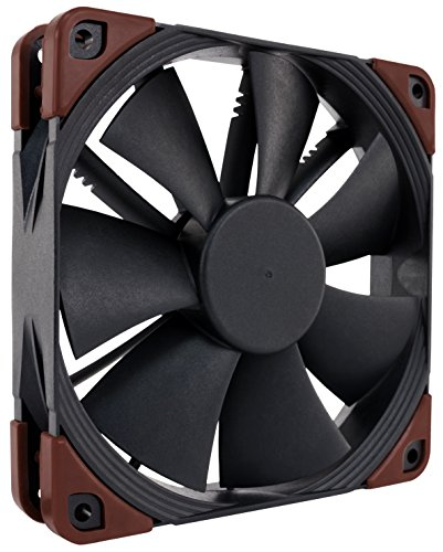 Noctua NF-F12 iPPC 3000 PWM, Heavy Duty Cooling Fan, 4-Pin, 3000 RPM (120mm, Black)