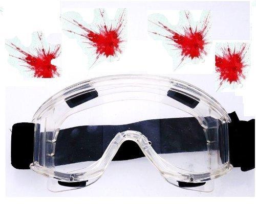 Nick and Ben Profi Softair und Paintball Schutzbrille!! Voll Schutz! 005767