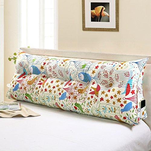 Double canapé-lit triangle coussins/coton toile taille/lit double lecture oreiller (taille : 150 * 22 * 50cm)