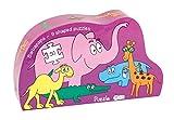 Barbapapá Puzzle Silueta Animales de la Selva (Barbo Toys 2211)