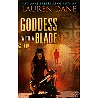 Goddess with a Blade audiobook cover art