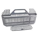 WD28X10128 Dishwasher silverware basket (19.7'x3.8'x8.4') for General Electric (GE) PS959351,AP3772889, 1088673, WD28X10128, WD28X10127, WD28X10131, WD28X10132