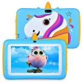 Tablet for Kids 7 inch Kids Tablet, 2GB RAM 16GB ROM, Android 9.0 Tablet, Parent Control, IPS HD Display, Kid-Proof, WiFi, Google Certified Playstore, Android Tablet, Blue