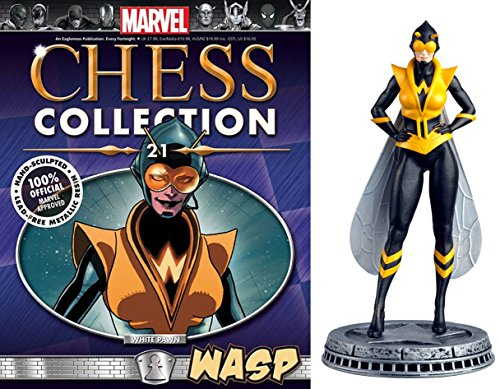 Eaglemoss Marvel Chess Figurine Collection Nº 21 Wasp