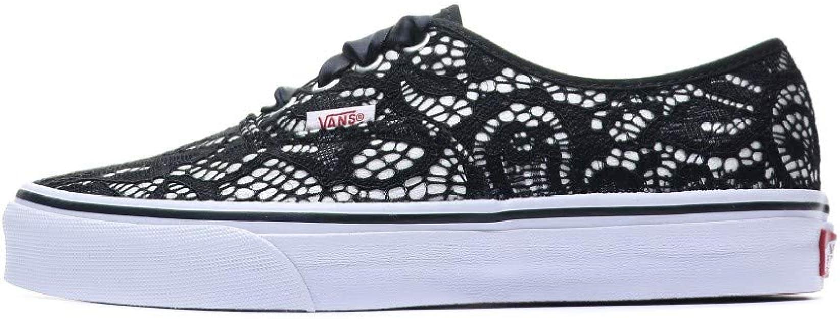 Vans Authentic Baskets Noir Femme : Amazon.fr: Chaussures et Sacs