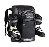 Zipline World Cup Ski Boot Bag Backpack – Waterproof Skiing and Snowboarding Travel Luggage – Stores Gear Including Jacket, Helmet, Goggles, Gloves & Accessories