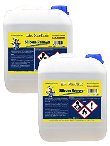 Mr. Perfect® siliconenverwijderaar, siliconenverwijderaar, ontvetter om te verwijderen - 2 x 5 liter