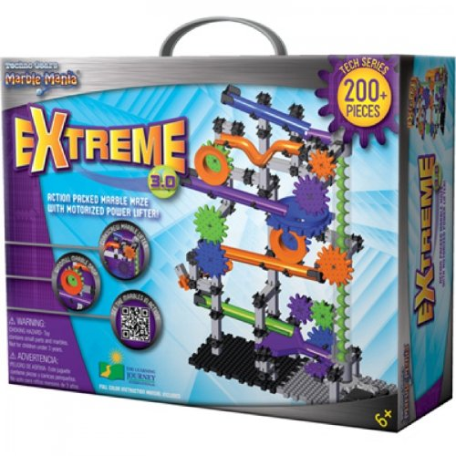 Learning Journey with Power Lifter Techno Gears - Marble Mania Extreme