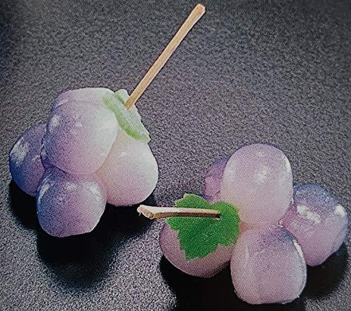 冷凍和菓子 花もち ぶどう 15個 業務用 冷凍