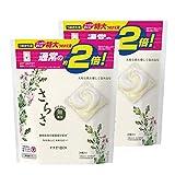 【まとめ買い】 さらさ 無添加 植物由来の成分入り 洗濯洗剤 ジェルボール 3D 詰め替え 特大 26個 (約2倍) × 2個