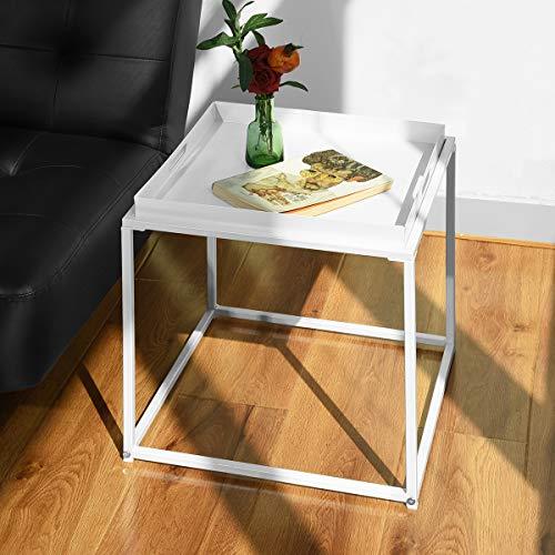 mesa oficina blanca de la marca Homy Lin