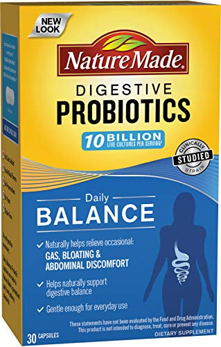 nature made probiotics for women Nature Made Daily Balance Digestive Probiotic, 30 Count