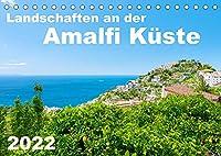 Landschaften an der Amalfi Kueste (Tischkalender 2022 DIN A5 quer): Malerische Doerfer und bezaubernde Ausblicke auf die Amalfikueste, Italien. (Monatskalender, 14 Seiten )