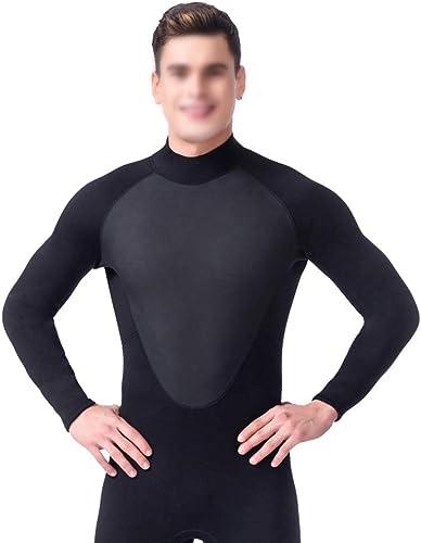 MALLTY Combinaison de plongée siamoise pour Hommes Combinaison de plongée Chaude et Super Confortable au mouillé