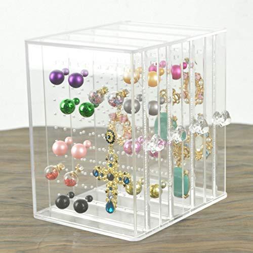 MUY Acrílico Diseño de cajón Joyero Pendiente Organizador de Almacenamiento de Joyas Colgante Locket Soporte de joyería Estuche Regalo de Pascua para Mujeres Caja de Recuerdos Caja