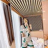 ZWLXY Seda Pjs De Las Nuevas Señoras De Moda De Manga Corta De Satén Elegante Ropa De Dormir con El Hogar Ropa Clase De Pijamas De Las Mujeres Elegantes Conjuntos para Mujer Pijamas,A1,XL