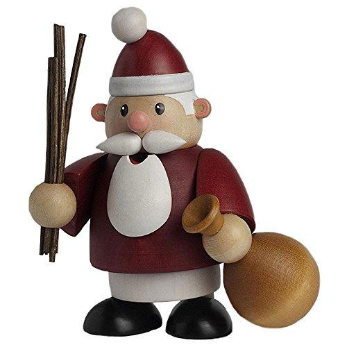 KWO Little Fellow Santa Claus Mini German Wood Christmas Incense Smoker Germany