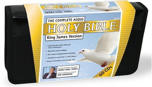 Compare Textbook Prices for The Complete Audio Holy Bible: King James Version 0 Edition ISBN 9781600775840 by James Earl Jones with Jon Sherberg