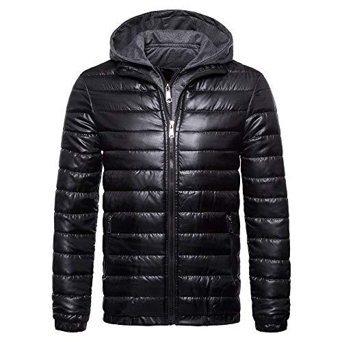 Buby Herren Kleidung Baumwolle Jacket Beiläufig Einfache Gestreifte Einfarbige...