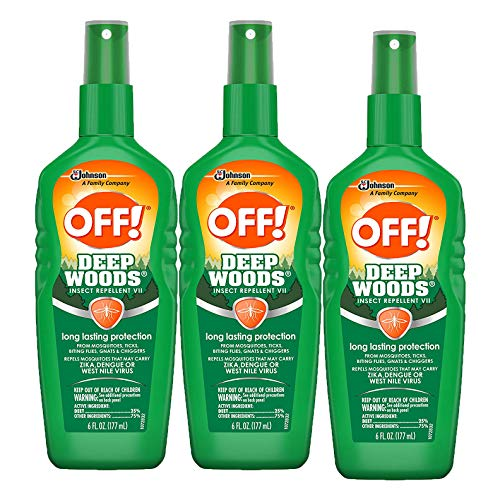 OFF! Deep Woods Insect Repellent VII, 6 oz (3 Count)