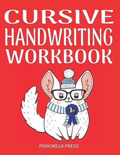 Cursive Handwriting Workbook: True D
