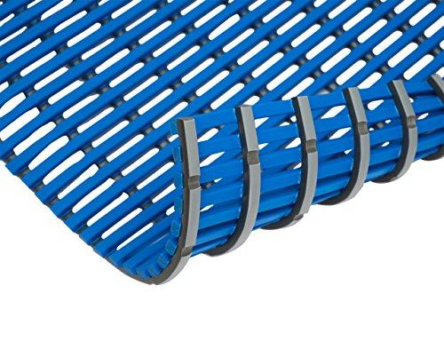 EHA 93472 Nassraummatte, dunkelblau, Breite 120 cm x Länge 60 cm, blau