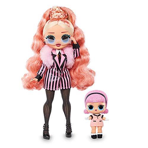 Giochi Preziosi- L.O.L Surprise OMG Winter Chill: Big Wig y Madame Queen Muñeca y Miniatura, Multicolor (LLUE3300)
