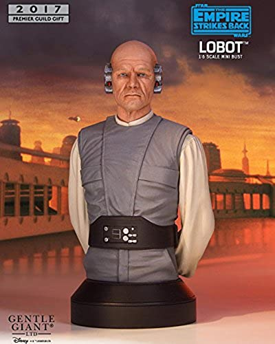 Gentle Giant Star Wars Episode V Bust 1 6 Lobot PGM Exclusive 18 cm Busti
