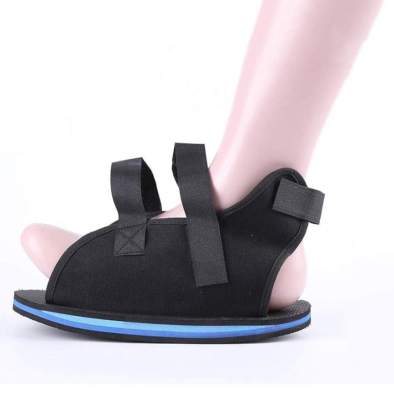 壊れたつま先/足の骨折のための術後靴 - カスタムフィットのための調節可能なストラップ付きの軽量医療ウォーキングブーツシューズ (Size : S)