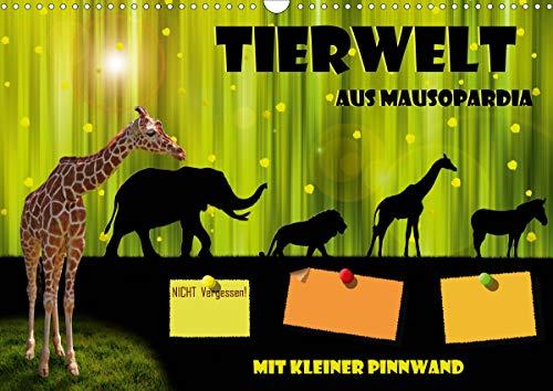 Tierwelt aus Mausopardia (Wandkalender 2021 DIN A3 quer)