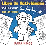 Libro De Actividades Colorear Une Los Puntos Para Niños: Feliz Navidad | Libro De...
