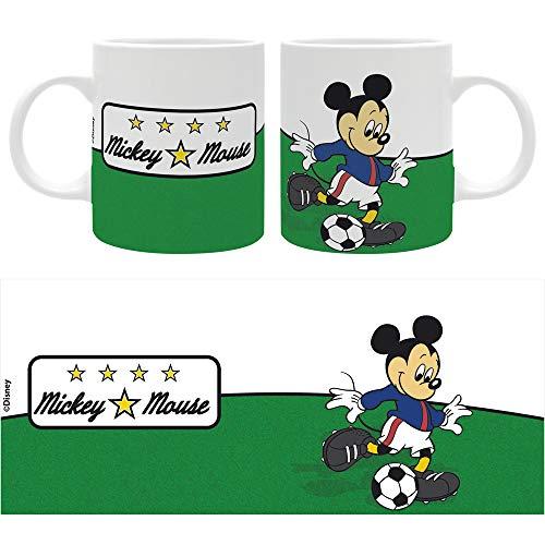 The Good Gift Disney - Taza - 320 ml - Mickey fútbol