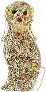 GlassOfVenice - Colcha de Cristal de Murano para Perro Millefiori