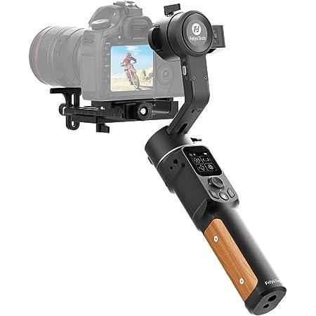 [Offiziell] FeiyuTech AK2000C, 3-Achsen Handy Gimbal für Spiegellose Kamera,LCD-Touchpanel, bis 2,2 kg für Sony A6300 A6400 A7III, Canon M50, Nikon, Panasonic, Fuji usw.