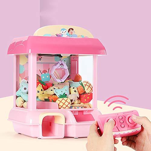 Garra Mini Garra Dispensador De Máquinas Expendedoras De Dulces, Dispensador De Premios Máquina Expendedora De Juguetes Toy Grabber para Niños con Música, Regalos De Mejor Amigo para Niños Niñas