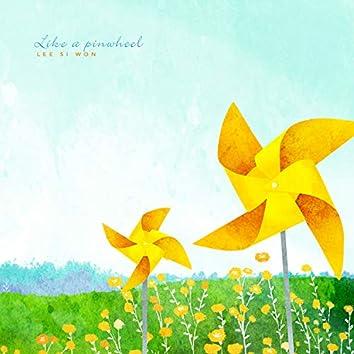 Like a pinwheel