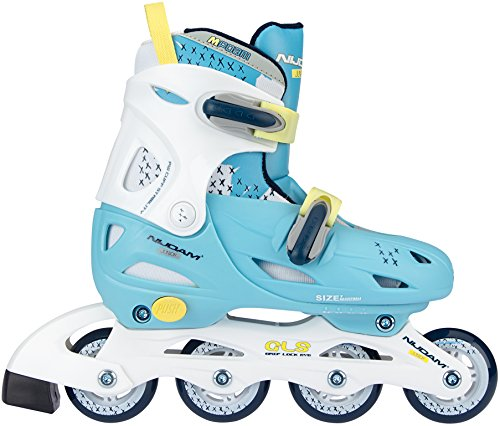 Nijdam Hardboot Kinder Inline Inliner Skates Rollschuhe verstellbar