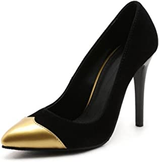 Smilice Court Shoes with Pointed Toe and Stiletto Women Shoes