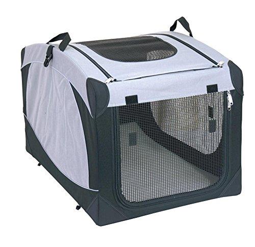 SixBros. Hundebox Transportbox Hundehütte versch. Größen S-XL - 1051/1496 - Größe Klein (S)