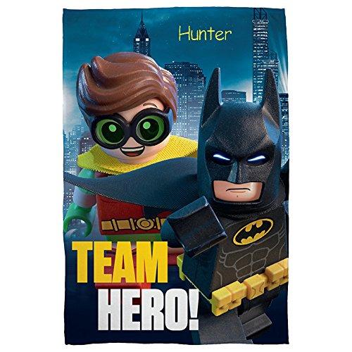 Personalizado LEGO Batman y Robin equipo Hero grande Super suave manta de forro polar manta