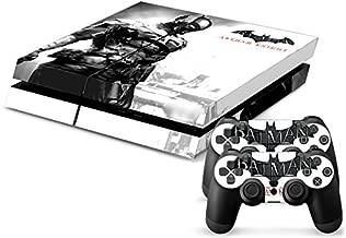 Faithion PS4 Sticker Batman Arkham knight Skin for Sony PlayStation 4 System