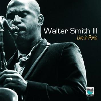 Walter Smith III - Live In Paris