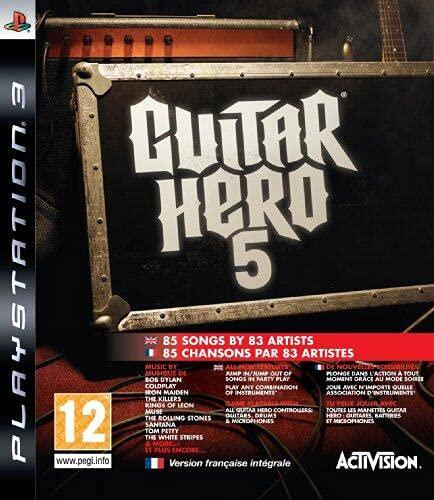 Guitar Hero 5 - Jeu seul [Importación francesa]