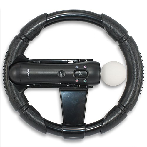 PS3 Move Controller Racing Wheel